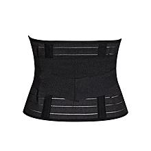 Slimming Tummy Trimming Belt - Black
