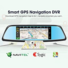 Fashion 7 Inch FHD 1080P Android 5.0 3G&WIFI GPS Navigation Car Dvr Camera With Dual Lens Dash Board Video Recorder Registrar Dash Cam