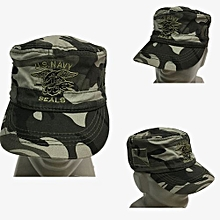 New Arrival United Front Camouflage Flat Top Hat Outdoor Casual Sunshade Hat-03