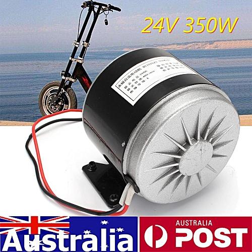 ZY MY 1016 Electric Motor DC 24v 350w E Bike Brushed Scooter 24 Volt 350  Watt