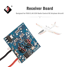 Receiver Board for F959 2.4G 3CH Radio Control RC Airplane Aircraft