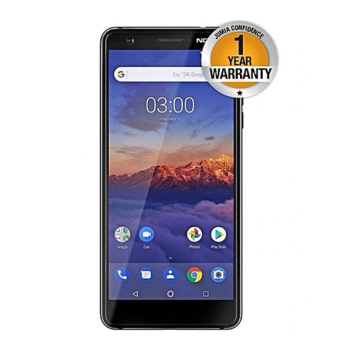 3.1 (Nokia 3 2018), 16GB + 2GB (Dual SIM), Black
