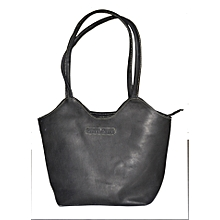 Black Rugged Handbag