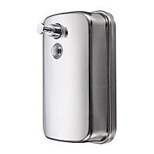 Bathroom Kitchen Stainless Steel Wall Mounted Lotion Pump Soap Shampoo Dispenser 500ml