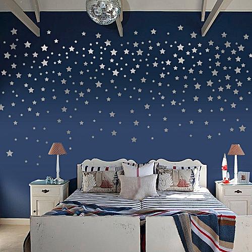 neworldline fashion stars wall stickers kids baby room diy wall art