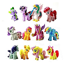 Figurines Playset For My Little Pony Kids Gift 12 Pcs