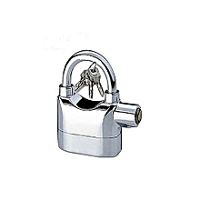 Alarm Padlock For Door/Motor/Bike/Car 110db Anti-Theft Security Lock Set With Batteries