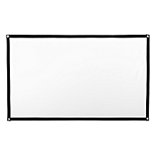 100'' Projector Screen 16:9 HD Home Cinema Outdoor Projection