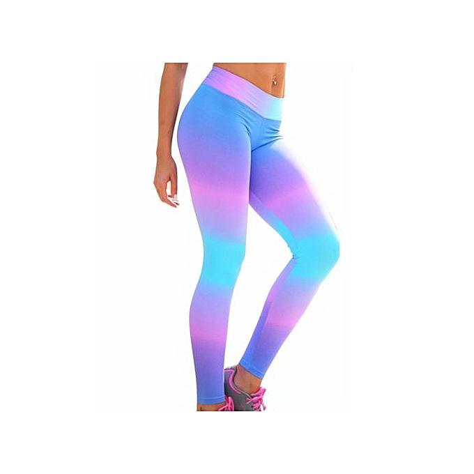 9be1395825d1 Hot Sale Women s Sports YOGA Workout Gym Fitness Leggings Pants Girls  Jumpsuit Athletic