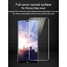 Imak Anti Glare Hydrogel 2th Generation Film For Nokia X6 3D Full Cover Protector Screen Protector Film For Nokia 6 No Wiping