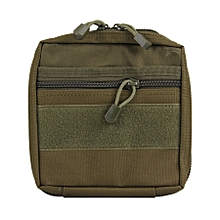 Electronic Gadget Handheld Bag, Size: 19.5*18.8*3.5cm(army Green)