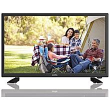 "22"" Digital Solar Powered TV System - Black"