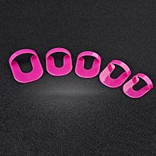 26pcs/set 10 Sizes Spill-proof Finger Cover PVC Nail Polish Varnish Supplies