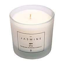 Scented Candle In Jar - 6.5 oz - Matte White