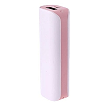 Hequeen New Fashion For USB Portable Travel External Backup Battery Charger Power Bank Case For Mobile Phones Candy Color(No Battery)