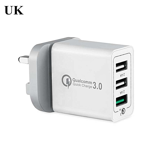 Fast USB Charger for iPhone 6 6s 7 plus Qualcomm Quick Charge 3.0 Portable Adapter Charger for iPad Tablet Mi 5s S7 S8 Cargador