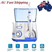 Waterpulse V300 Water Jet Pick Flosser Oral Irrigator Teeth Cleaner Dental Care Blue