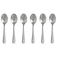 Dessert/Tea Spoon - Stainless steel 6pack