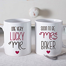 Personalised Standard Set Of 2 Mugs - Soon To Be