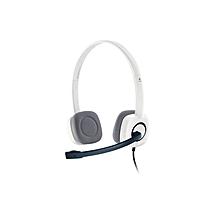 H150 Stereo Headset - White