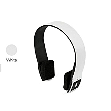 Headphone HandsFree Stereo Audio Bluetooth Headset Bluetooth Sports Wireless High Quality Headphones S460 - White