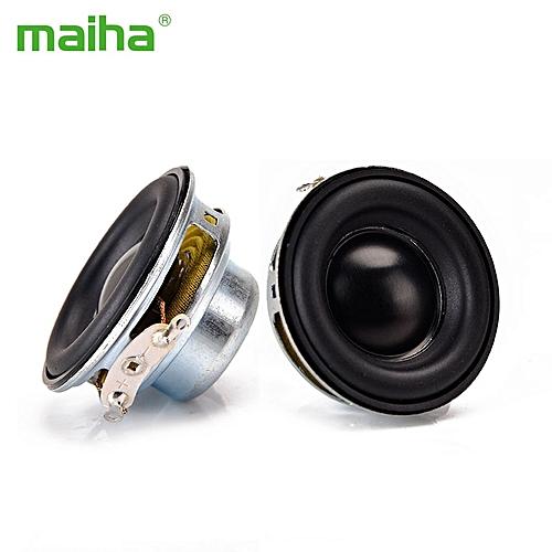 2Pcs 1 5inch Full Range Speaker 40mm 4 Ohm 5W HiFi Rubber Side Speakers DIY  Portable Bluetooth Speaker Mini Music Speakers GDMALL