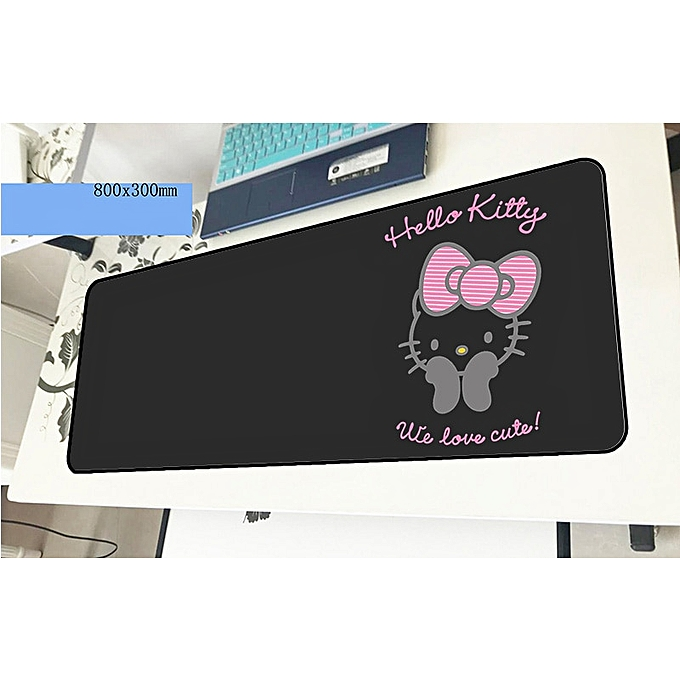 8589ea8ee ... hello kitty mouse pad gamer 800x300x2mm notbook mouse mat gaming  mousepad large wrist rest pad mouse ...