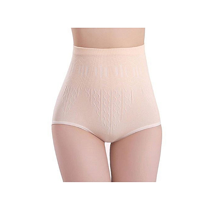 ef691b1b3c Lady Fashion High Waist Tummy Control Hip Lifting Body Shaper Slimming  Briefs-Skin - Skin