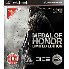 PS3 Game Medal Of Honor Limited Edition