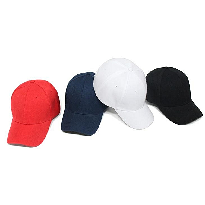 4a168b44 Touchpoint Collections Men Women 4 Baseball Caps Unisex Curved Visor Hat  Hip-Hop Adjustable Peaked