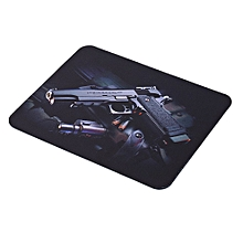 Guns Pattern Anti-Slip Computer Gaming Mouse Pad Mat Mousepad 22cm*18cm