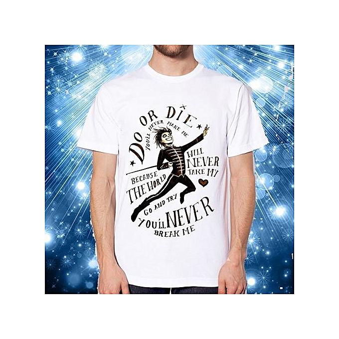 Buy Generic My Chemical Romance Shirt Mcr Male T Shirt Rock N Roll