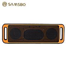S160 Ultra Portable Rectangle Wireless Bluetooth Speaker  - Sweet Orange