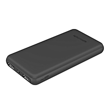 VOLTAG-10C: Black 10,000mAh  Power Bank & charges 2 devices simultaneously