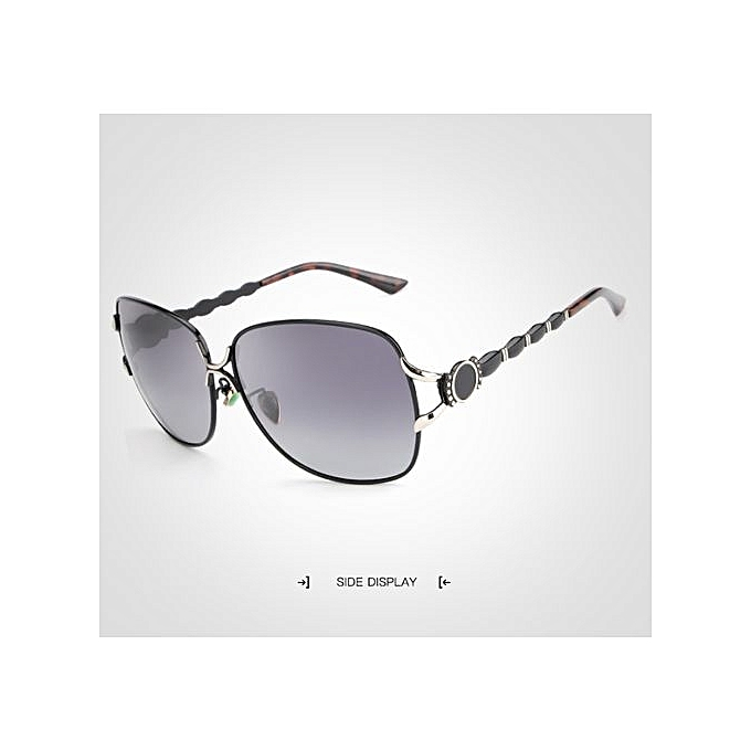 ... Refined Female Polarized Sunglasses Women Luxury Alloy Frame Eyewear  Retro Lady Oculos De Sol With Case ... 69be55cdbb
