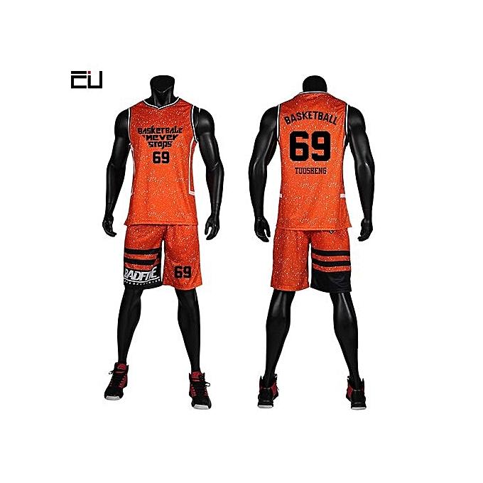 a6d968a62fe2 ... Men s Customized Basketball Team Sports Jersey Uniform Set-Black(GY7305)  ...