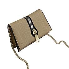Women's Fashion Large Zipper Handbag Crossbody Shoulder Bags KH