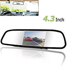 4.3 Inch 480 X 272 Color Digital TFT-LCD Screen Car Rear View Monitor With 2 Video Input