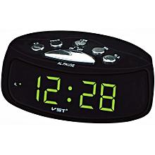 VST ST-9 EU Plug AC Power Desktop Led Digital Alarm Clock With Blue Red Green Backlight