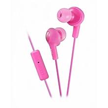 HA-FR6 - Gumy Plus Inner Ear Headphones - Peach Pink