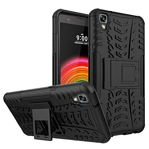 For LG [X Power] Case, Hard PC+Soft TPU Shockproof Tough Dual Layer Cover  Shell For 5 3