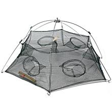100x40cm Fish Shrimp Minnow Folded Fishing Trap Crab Cast Mesh Baits Net Cage
