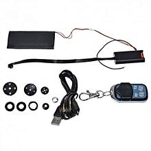 T186 - Button Spy Video Camera DVR FULL HD - Black