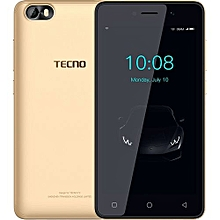 "F1 - [8GB+1GB RAM] - 5.0"" Display - 2000mAh Battery - Dual SIM+ Back Cover - Gold"
