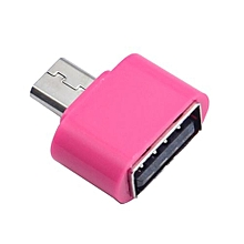 Micro USB To USB OTG Mini Adapter Converter For Android SmartPhone Hot