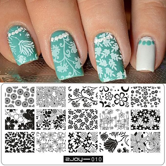 Buy Neworldline New Women Nail Art Manicure Rectangle Nail Art