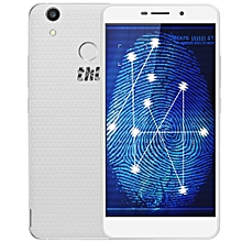 T9 Plus Android 6.0 5.5 Inch 4G Phablet MTK6737 Quad Core 1.3GHz 2GB RAM 16GB ROM Dual Cameras Fingerprint Scanner-WHITE