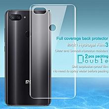 Imak 2pcs Hydrogel Film for Xiaomi 8 Lite Full Cover Back Screen Protector