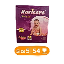 Size 5 Junior, Jumbo Pack,11-25 kgs, 54 Diapers
