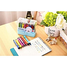 Alician Color Pen With The Seal 36 Color Box